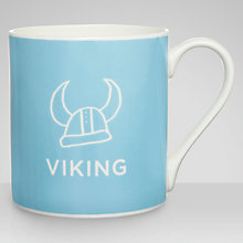 Buy Nick Munro RNLI Attention All Shipping Viking Mug Online at johnlewis.com