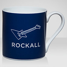 Buy Nick Munro RNLI Attention All Shipping Rockall Mug Online at johnlewis.com