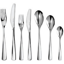 Buy Robert Welch Aspen Cutlery Place Setting, 7 Piece Online at johnlewis.com