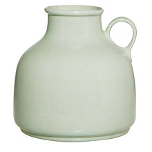 Buy Green Crackled Pitch Vase, Small Online at johnlewis.com