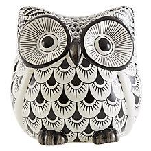 Buy John Lewis Owl, Black/White, Large Online at johnlewis.com