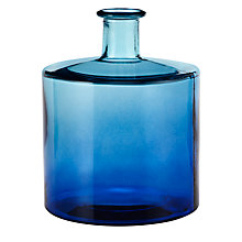 Buy Two Tone Vase, Blue, Small Online at johnlewis.com