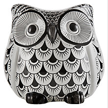 Buy John Lewis Owl, Black/White, Small Online at johnlewis.com