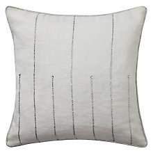 Buy Libra Crystal Cushion, Ivory Online at johnlewis.com