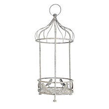 Buy Metal Bird Cage Planter, Large Online at johnlewis.com