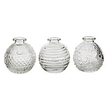 Buy Mini Glass Flower Vase, Assorted Online at johnlewis.com