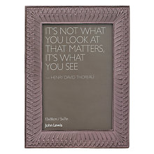 Buy John Lewis Photo Frame, Pink Online at johnlewis.com