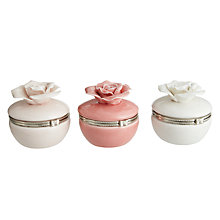 Buy Porcelain Rose Storage Box, Assorted Online at johnlewis.com
