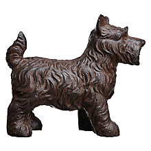 Buy Libra Scottie Dog Door Stop, Black Online at johnlewis.com