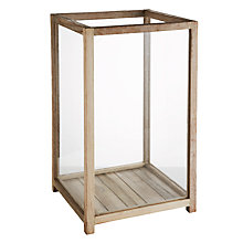 Buy Wood And Glass Display Case, Large Online at johnlewis.com