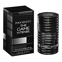 Buy Davidoff The Game Intense Eau de Toilette Spray Online at johnlewis.com