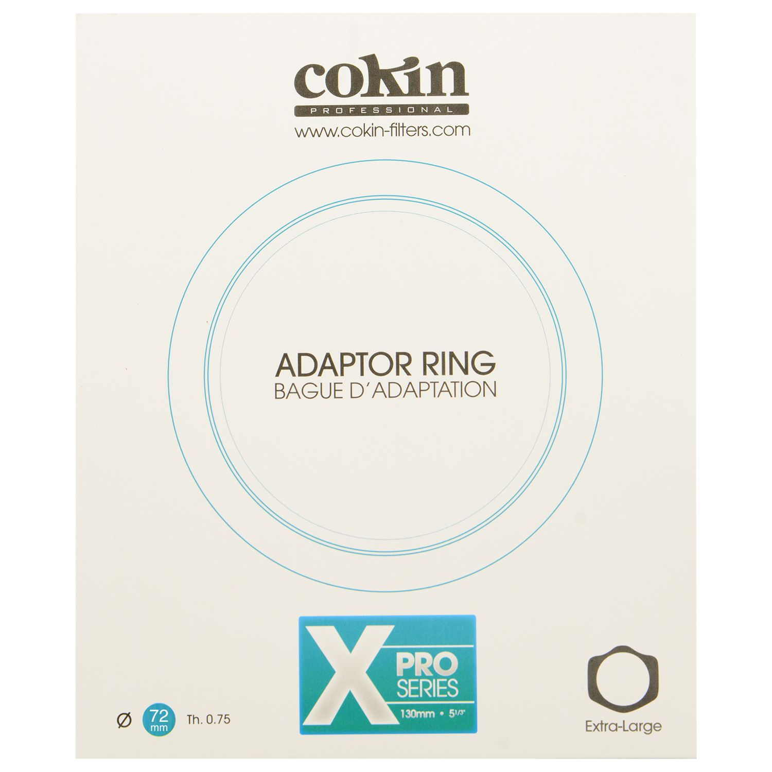 Cokin Cokin X472 X-Series 72mm TH0.75 Adapter Ring