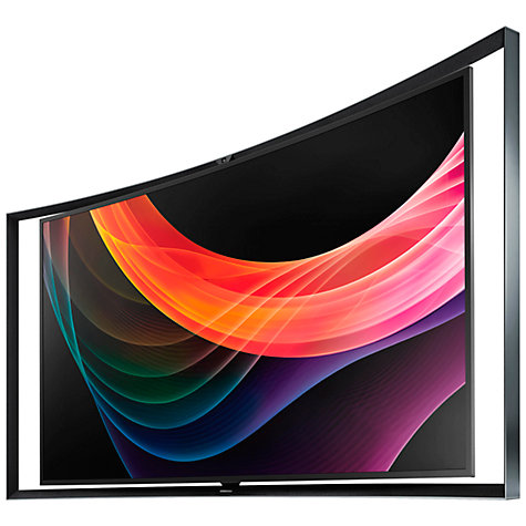 "Buy Samsung KE55S9C Curved OLED Full HD 3D Smart TV, 55"" with Freeview HD and 2x 3D Glasses Online at johnlewis.com"