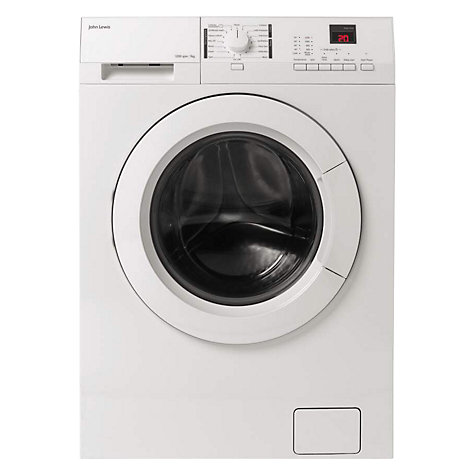 Buy John Lewis JLWM1205 Washing Machine, 7kg Load, A+++ Energy Rating, 1200rpm Spin, White Online at johnlewis.com