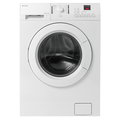 John Lewis JLWM1412 Freestanding Washing Machine, 7kg Load, A+++ Energy Rating, 1400rpm Spin, White