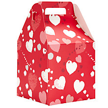 Buy John Lewis Scatter Heart Pop Up Gift Bag, Medium Online at johnlewis.com