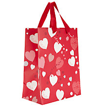 Buy John Lewis Scatter Heart Gift Bag, Small Online at johnlewis.com