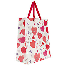 Buy John Lewis Scatter Heart Gift Bag, Medium Online at johnlewis.com