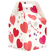 Buy John Lewis Scatter Heart Pop Up Gift Bag, Small Online at johnlewis.com
