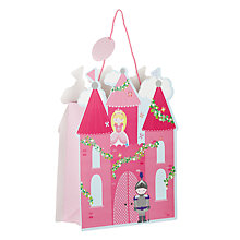 Buy John Lewis Fairy Castle Shaped Gift Bag Online at johnlewis.com