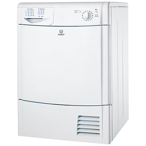 Buy Indesit IDC85 Condenser Tumble Dryer, 8kg Load, C Energy Rating, White Online at johnlewis.com