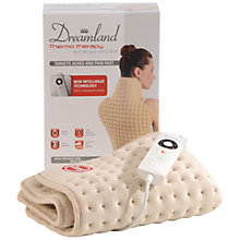 Buy Dreamland 16055 Intelliheat Neck and Back Heated Wrap Online at johnlewis.com