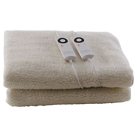 Buy Dreamland 6963 Intelliheat Fleecy Double Electric Underblanket Online at johnlewis.com