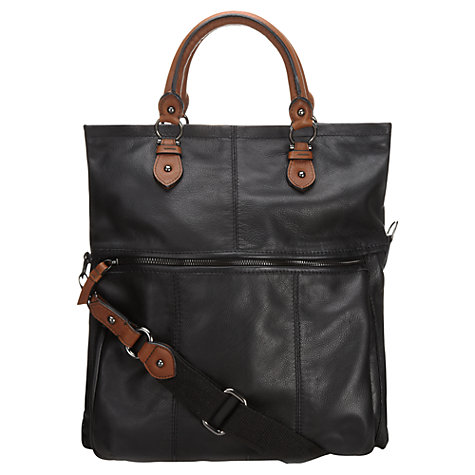 Buy Jigsaw Arundel Satchel, Black Online at johnlewis.com