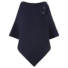 Buy Jigsaw Button Poncho Online at johnlewis.com