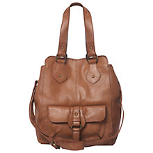 Buy White Stuff Mia Tote Handbag, Brown Online at johnlewis.com