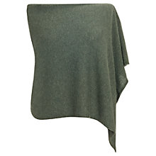 Buy Jigsaw Knitted Poncho, Green Online at johnlewis.com