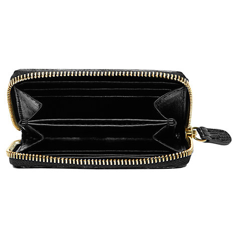 Buy Gérard Darel Vittoria Leather Handbag, Black Online at johnlewis.com