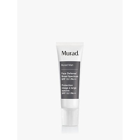 Buy Murad Face Defense® Broad Spectrum SPF 15 PA++, 50ml Online at johnlewis.com