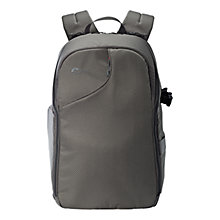 "Buy Lowepro Transit Backpack 350AW for DSLRs and Laptops up to 15"", Slate Grey Online at johnlewis.com"