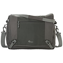 "Buy Lowepro Nova Sport 35L AW Shoulder Bag for DSLR Cameras and Laptops up to 13"", Slate + FREE Joby 3-way Camera Strap Online at johnlewis.com"