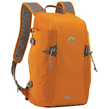 Buy Lowepro Flipside Sport 15L AW Backpack for DSLR Cameras, Orange & Light Grey Online at johnlewis.com