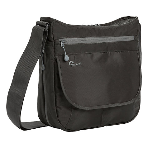 "Buy Lowepro StreamLine 250 Shoulder Bag for Mirrorless Cameras and Tablets up to 10"", Slate Online at johnlewis.com"
