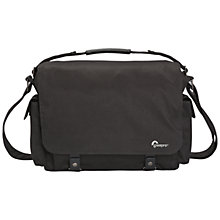 "Buy Lowepro Urban Reporter 250,  Messenger Bag for DSLR Cameras and Laptops up to 13"", Black Online at johnlewis.com"