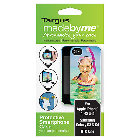 Buy Targus madebyme, Personalised Case for Smartphones Online at johnlewis.com