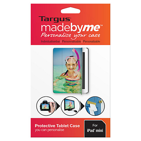 Buy Targus madebyme, Personalised Click-in Case for iPad mini Online at johnlewis.com