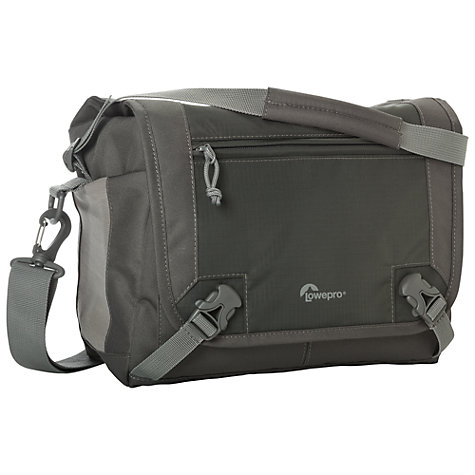 "Buy Lowepro Nova Sport 17L AW Shoulder Bag for DSLR Camera and Tablet up to 10"", Slate Online at johnlewis.com"
