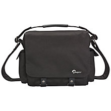 Buy Lowepro Urban Reporter 150, DSLR Camera Messenger Bag, Black Online at johnlewis.com