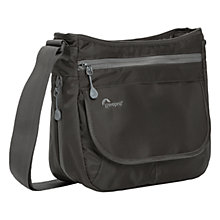 "Buy Lowepro StreamLine 150 Shoulder Bag for Small Cameras and Tablets up to 7"", Slate Online at johnlewis.com"
