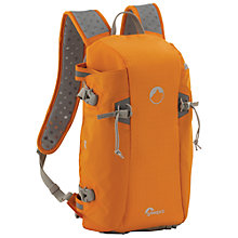 Buy Lowepro Flipside Sport 10L AW Backpack for DSLR Cameras, Orange & Light Grey Online at johnlewis.com