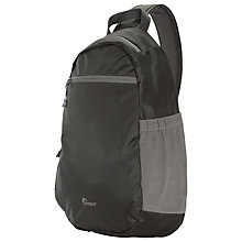 "Buy Lowepro StreamLine Sling Bag for Small DSLR Cameras and Tablets up to 10"", Slate Online at johnlewis.com"