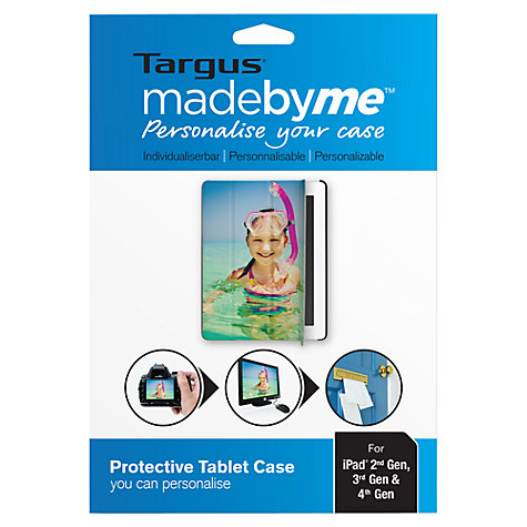 Buy Targus madebyme, Personalised Click-in Case for 2nd, 3rd & 4th Generation iPad Online at johnlewis.com