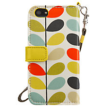 Buy Orla Kiely Multi Stem Wallet Case for iPhone 5 & 5s Online at johnlewis.com