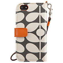 Buy Orla Kiely Optic Stem Wallet Case for iPhone 5 & 5s Online at johnlewis.com