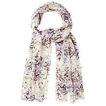 Buy White Stuff Tree Of Life Print Scarf, Multi Online at johnlewis.com