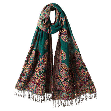 Buy East Ivy Rural Artist Shawl, Ivy Online at johnlewis.com